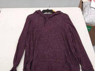 women s xxl hooded shirt