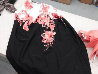 women s 18W dress  dirty 16W jacket