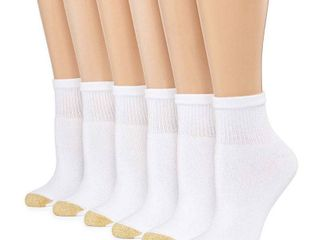 Gold Toe 6 Pair Quarter Socks   Womens