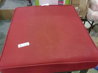 large Red Outdoor Cushion