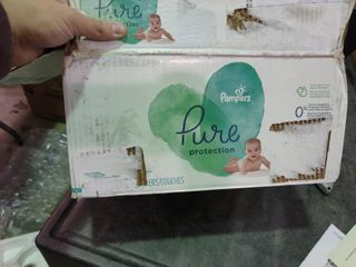 Box of Pampers Size 1 Diapers