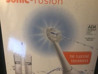 Water pick sonic fusion toothbrush