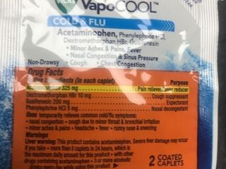 50 pack lot of two each per pack of DayQuil Severe vapocool Just in time for the winter season expiration date 8 2021