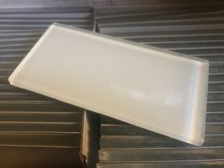 Case 40 glass tiles 3 x 6 retail for  86 a box