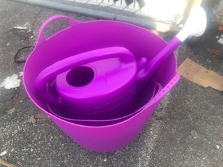 Nice Christmas gift for the spring gardener to flex buckets and water pitcher