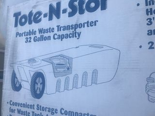 New in box RV 36 gallon waste storage tank I just pictured