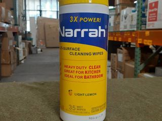 Narrah Multi surface Cleaning Wipes 35ct