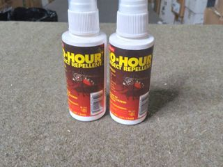 lot of 2   Grabber Outdoors 10 Hour 100  Deet Insect Repellent Spray  2 Ounce