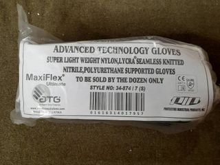 Advanced Technology Gloves Super light Weight Nylon Dozen Pairs Size 7 Small