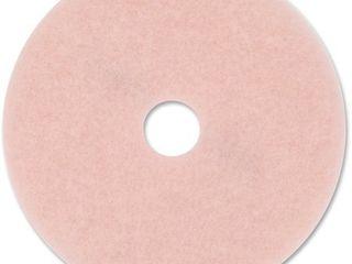 3M Eraser Burnish Pad 3600  Pink  5   Carton  Quantity