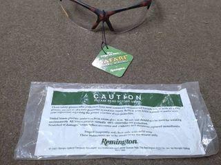 Safari Safety Eyewear by Remington Protrctive Glasses  2 5 Magnification