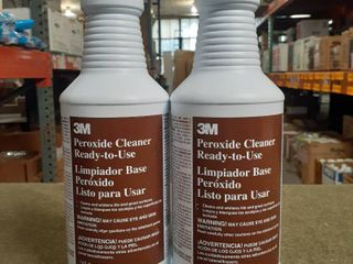 lot of 2   3M Peroxide Cleaner Ready to Use 1 Quart