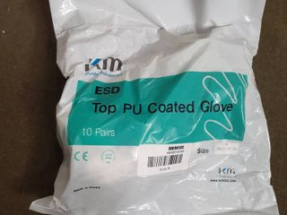 KM Purely Advanced Top PU Coated Gloves 10 Pairs Medium