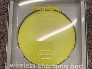 heyday Qi Wireless 5W Charging Puck   lime Green  RETAIl  9 99