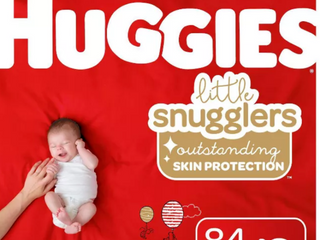 Huggies little Snugglers Diapers  Newborn  84 Count   RETAIl  24 99