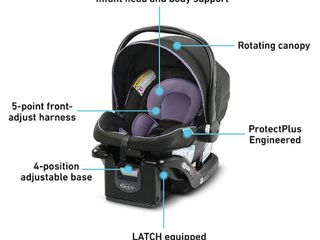 Graco SnugRide 35 lite lX Infant Car Seat   Hailey Fashion  RETAIl  99 99