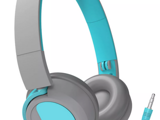 Gems Kids Wired On Ear Headphones   Teal Gray  RETAIl  9 99