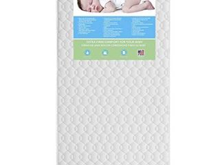 Dream On Me Carousel Firm Fiber 6a Crib and Toddler Bed Mattress  READ   RETAIl  83 99