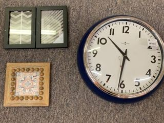 Home Decor lOT  Wall Clock  Wall Art   Double Picture Frame