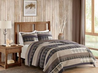 Woolrich Winter Plains Quilt Mini Set   King California King  RETAIl  99 99