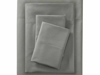 Microfiber Solid Sheet Set   Room Essentials   Gray  RETAIl  19 00