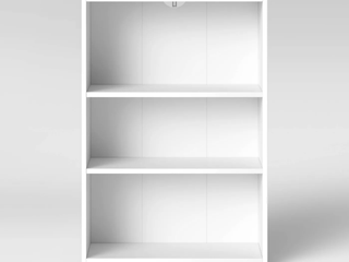 3 Shelf Bookcase   Room Essentials  White  RETAIl  25