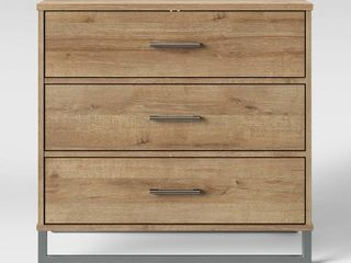 Mixed Material 3 Drawer Dresser   Room Essentials  RETAIl  120