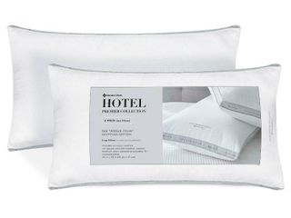 lOT OF 2 Hotel Premier Collection King Pillow by Member s Mark  RETAIl  20 00