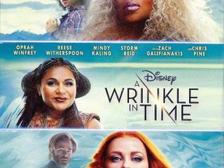 A Wrinkle in Time  Blu Ray   DVD   Booklet   RETAIl  24 99
