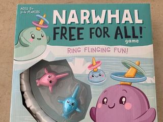 Narwhal Free for All Game  Ring Flinging Fun   RETAIl  19 99