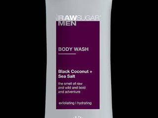 lOT OF 4 Raw Sugar Men s Body Wash   Black Coconut   Sea Salt  RETAIl  27 96