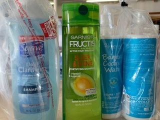 Hair Care lOT  Repure Bamboo Coconut Water Shampoo   Conditioner  Garnier Fructis   Suave
