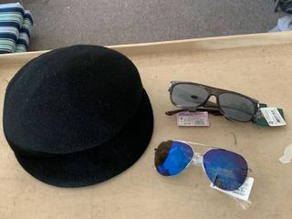 Accessories lOT  A New Day Captain Hat   2 Pairs Sunglasses