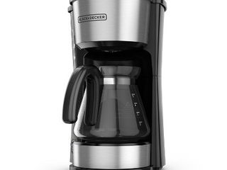 BlACK DECKER 5 Cup 4 in 1 Station Coffeemaker a Stainless Steel  RETAIl  19 99