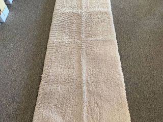 22  x 60  light Gray Bath Runner Rug