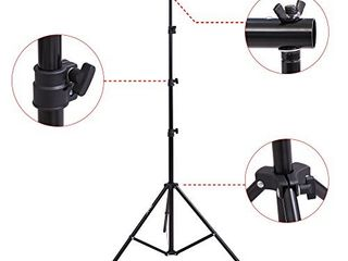 Emart 8 5 ft  x 10 ft  Photo Backdrop Stand   Adjustable