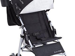 Jeep North Star Stroller a lightweight Stroller Features Parent Organizer  Cup Holder   Cool Climate Mesh Seat   Black with Grey