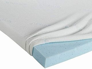 Editor s Choice Cooling Gel Infused Memory Foam Mattress Topper   Twin Xl Size