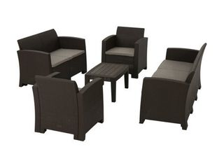 Daytona Outdoor 5 piece Chat Set  ONlY THE SOFA
