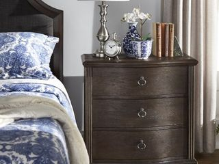 iNSPIRE Q Rola Dark Brown Finish Nightstand by Classic