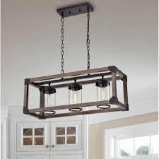 29 5 inches l x 10 8 inches W x 51 2 inches H   Antique Black  Daniela 3 light Antique Black Metal Wood Glass Chandelier   29 5 inches l x 10 8 inches W x 51 2 inches H  Retail 227 99