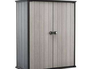 Keter High Store Plus Vertical Shed  Grays
