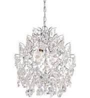 Chrome 3 light Mini Chandelier by Mink