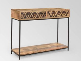 Pentland Boho Console Table by Christopher Knight Home   42 00  W x 15 00  D x 32 00  H  Retail 228 99