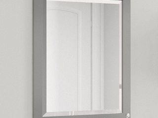 Alaterre 24 inch Dove Gray Bath Wood Frame Vanity Mirror  Retail 135 99