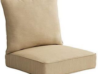Kiwalik Natural 2  Piece Deep Seat Cushion