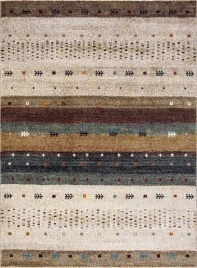 Concord Global Diamond Native Beige Area Rug  2 7  x 5