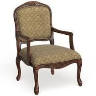 Furniture of America Pees Traditional Be Occasional Chair Antique Oak