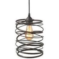 The Gray Barn Windy Bracken 1 light Metal Cage Shade Industrial Mini Wire Pendant  Retail 86 49