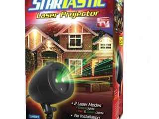 Original  Startastic Outdoor Holiday laser Projector